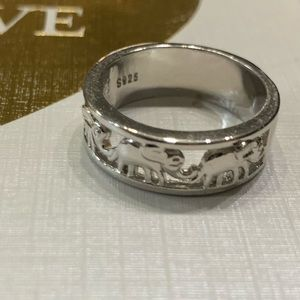 5 for $10 jewelry sale silver elephant ring